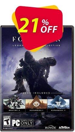 Destiny 2 Forsaken - Legendary Collection PC - EU  Coupon discount Destiny 2 Forsaken - Legendary Collection PC (EU) Deal - Destiny 2 Forsaken - Legendary Collection PC (EU) Exclusive Easter Sale offer for iVoicesoft