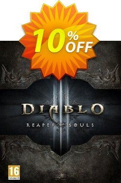 Diablo III 3: Reaper of Souls - Collector's Edition Mac/PC Coupon discount Diablo III 3: Reaper of Souls - Collector's Edition Mac/PC Deal - Diablo III 3: Reaper of Souls - Collector's Edition Mac/PC Exclusive Easter Sale offer for iVoicesoft