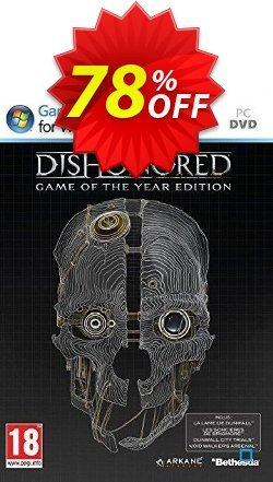Dishonored Game Of The Year Edition - PC  Coupon discount Dishonored Game Of The Year Edition (PC) Deal - Dishonored Game Of The Year Edition (PC) Exclusive Easter Sale offer for iVoicesoft