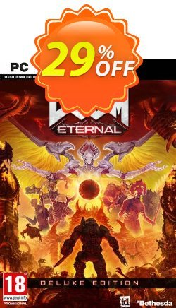 DOOM Eternal - Deluxe Edition PC + DLC - EMEA  Coupon discount DOOM Eternal - Deluxe Edition PC + DLC (EMEA) Deal - DOOM Eternal - Deluxe Edition PC + DLC (EMEA) Exclusive Easter Sale offer for iVoicesoft