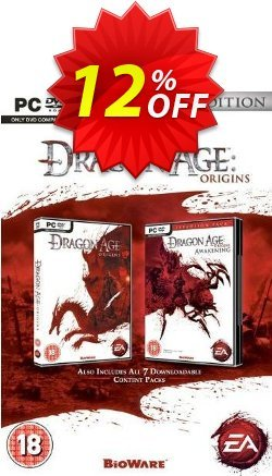 Dragon Age: Origins - Ultimate Edition - PC  Coupon discount Dragon Age: Origins - Ultimate Edition (PC) Deal - Dragon Age: Origins - Ultimate Edition (PC) Exclusive Easter Sale offer for iVoicesoft