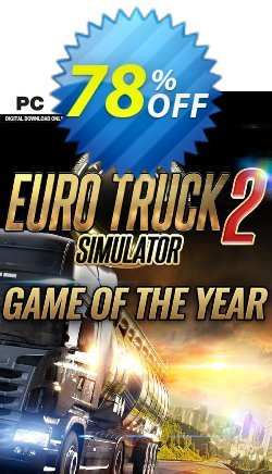 Euro Truck Simulator 2 - GOTY Edition PC Coupon discount Euro Truck Simulator 2 - GOTY Edition PC Deal - Euro Truck Simulator 2 - GOTY Edition PC Exclusive Easter Sale offer for iVoicesoft