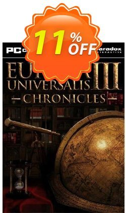 Europa Universalis III 3 Chronicles - PC  Coupon discount Europa Universalis III 3 Chronicles (PC) Deal - Europa Universalis III 3 Chronicles (PC) Exclusive Easter Sale offer for iVoicesoft