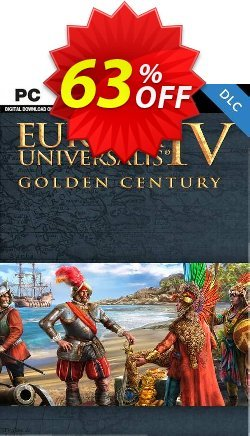 Europa Universalis IV PC: Golden Century DLC Coupon discount Europa Universalis IV PC: Golden Century DLC Deal - Europa Universalis IV PC: Golden Century DLC Exclusive Easter Sale offer for iVoicesoft