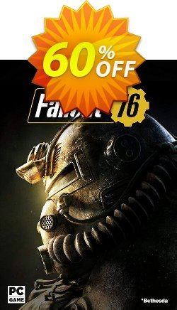 Fallout 76 PC - Asia  Coupon discount Fallout 76 PC (Asia) Deal - Fallout 76 PC (Asia) Exclusive Easter Sale offer for iVoicesoft