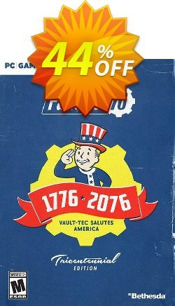 Fallout 76 Tricentennial Edition PC - US/CA  Coupon discount Fallout 76 Tricentennial Edition PC (US/CA) Deal - Fallout 76 Tricentennial Edition PC (US/CA) Exclusive Easter Sale offer for iVoicesoft