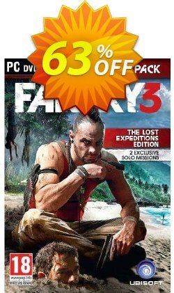 Far Cry 3 - The Lost Expeditions Edition - PC  Coupon discount Far Cry 3 - The Lost Expeditions Edition (PC) Deal - Far Cry 3 - The Lost Expeditions Edition (PC) Exclusive Easter Sale offer for iVoicesoft