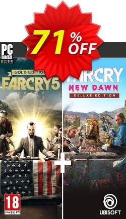 Far Cry New Dawn + Far Cry 5 - Ultimate Bundle PC Coupon discount Far Cry New Dawn + Far Cry 5 - Ultimate Bundle PC Deal - Far Cry New Dawn + Far Cry 5 - Ultimate Bundle PC Exclusive Easter Sale offer for iVoicesoft