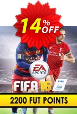 FIFA 16 PC 2200 FUT Points Coupon discount FIFA 16 PC 2200 FUT Points Deal - FIFA 16 PC 2200 FUT Points Exclusive Easter Sale offer for iVoicesoft