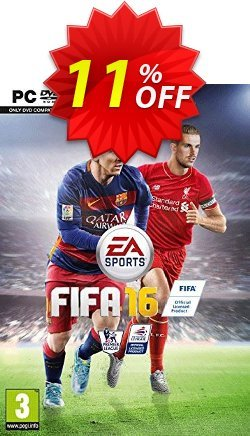 FIFA 16 PC Coupon discount FIFA 16 PC Deal - FIFA 16 PC Exclusive Easter Sale offer for iVoicesoft