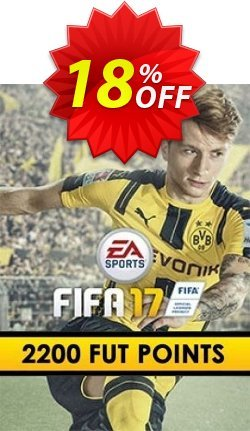 FIFA 17: 2200 FUT Points PC Coupon discount FIFA 17: 2200 FUT Points PC Deal - FIFA 17: 2200 FUT Points PC Exclusive Easter Sale offer for iVoicesoft