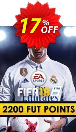 FIFA 18 - 2200 FUT Points PC Coupon discount FIFA 18 - 2200 FUT Points PC Deal - FIFA 18 - 2200 FUT Points PC Exclusive Easter Sale offer for iVoicesoft