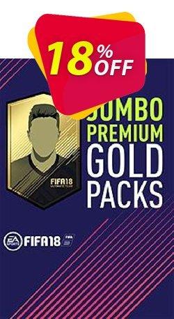 FIFA 18 - Jumbo Premium Gold Packs PC Coupon discount FIFA 18 - Jumbo Premium Gold Packs PC Deal - FIFA 18 - Jumbo Premium Gold Packs PC Exclusive Easter Sale offer for iVoicesoft