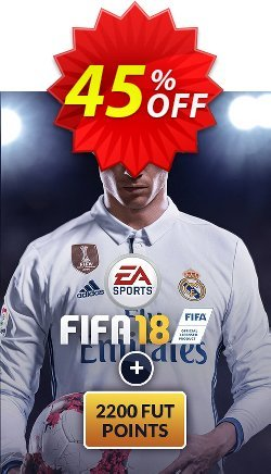 FIFA 18 PC + 2200 FUT Points Coupon discount FIFA 18 PC + 2200 FUT Points Deal - FIFA 18 PC + 2200 FUT Points Exclusive Easter Sale offer for iVoicesoft