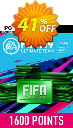 FIFA 19 - 1600 FUT Points PC Coupon discount FIFA 19 - 1600 FUT Points PC Deal - FIFA 19 - 1600 FUT Points PC Exclusive Easter Sale offer for iVoicesoft