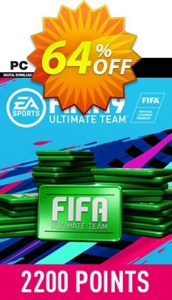 FIFA 19 - 2200 FUT Points PC Coupon discount FIFA 19 - 2200 FUT Points PC Deal - FIFA 19 - 2200 FUT Points PC Exclusive Easter Sale offer for iVoicesoft