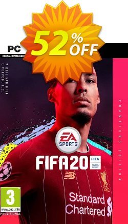 FIFA 20: Champions Edition PC Coupon discount FIFA 20: Champions Edition PC Deal - FIFA 20: Champions Edition PC Exclusive Easter Sale offer for iVoicesoft