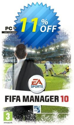 FIFA Manager 10 - PC  Coupon discount FIFA Manager 10 (PC) Deal - FIFA Manager 10 (PC) Exclusive Easter Sale offer for iVoicesoft