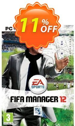 FIFA Manager 12 - PC  Coupon discount FIFA Manager 12 (PC) Deal - FIFA Manager 12 (PC) Exclusive Easter Sale offer for iVoicesoft
