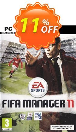FIFA Manager 2011 - PC  Coupon discount FIFA Manager 2011 (PC) Deal - FIFA Manager 2011 (PC) Exclusive Easter Sale offer for iVoicesoft
