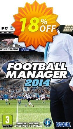 Football Manager 2014 PC Coupon discount Football Manager 2014 PC Deal - Football Manager 2014 PC Exclusive Easter Sale offer for iVoicesoft