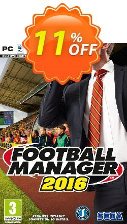 Football Manager 2016 + BETA PC Coupon discount Football Manager 2016 + BETA PC Deal - Football Manager 2016 + BETA PC Exclusive Easter Sale offer for iVoicesoft