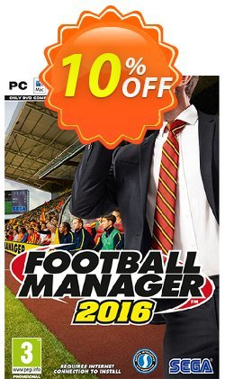 Football Manager 2016 PC/Mac Coupon discount Football Manager 2016 PC/Mac Deal - Football Manager 2016 PC/Mac Exclusive Easter Sale offer for iVoicesoft