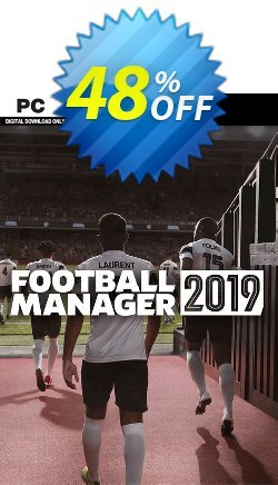 Football Manager 2019 PC - WW  Coupon discount Football Manager 2021 PC (WW) Deal. Promotion: Football Manager 2021 PC (WW) Exclusive Easter Sale offer for iVoicesoft