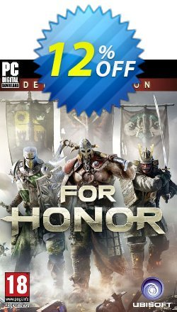 For Honor Deluxe Edition PC Coupon discount For Honor Deluxe Edition PC Deal - For Honor Deluxe Edition PC Exclusive Easter Sale offer for iVoicesoft