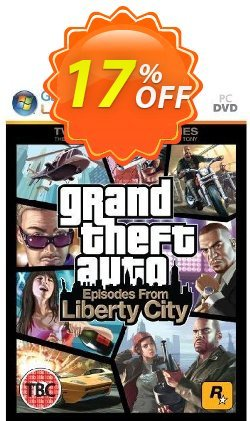 Grand Theft Auto: Episodes from Liberty City - PC  Coupon discount Grand Theft Auto: Episodes from Liberty City (PC) Deal - Grand Theft Auto: Episodes from Liberty City (PC) Exclusive Easter Sale offer for iVoicesoft