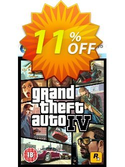 Grand Theft Auto IV 4 - PC  Coupon discount Grand Theft Auto IV 4 (PC) Deal - Grand Theft Auto IV 4 (PC) Exclusive Easter Sale offer for iVoicesoft