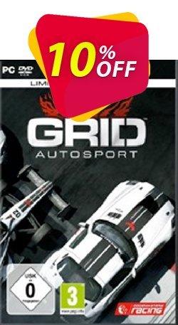Grid Autosport Black Edition PC Coupon discount Grid Autosport Black Edition PC Deal - Grid Autosport Black Edition PC Exclusive Easter Sale offer for iVoicesoft