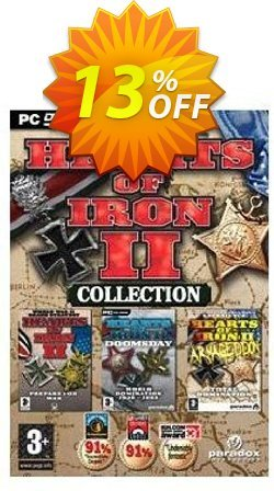 Hearts of Iron Collection - HOI2, Doomsday and Armageddon - PC  Coupon discount Hearts of Iron Collection - HOI2, Doomsday and Armageddon (PC) Deal - Hearts of Iron Collection - HOI2, Doomsday and Armageddon (PC) Exclusive Easter Sale offer for iVoicesoft