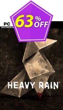 Heavy Rain PC Coupon discount Heavy Rain PC Deal - Heavy Rain PC Exclusive Easter Sale offer for iVoicesoft