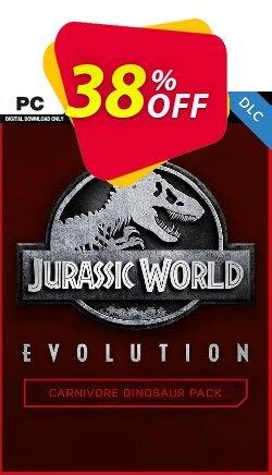 Jurassic World Evolution PC: Carnivore Dinosaur Pack DLC Coupon discount Jurassic World Evolution PC: Carnivore Dinosaur Pack DLC Deal - Jurassic World Evolution PC: Carnivore Dinosaur Pack DLC Exclusive Easter Sale offer for iVoicesoft