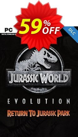 Jurassic World Evolution PC: Return To Jurassic Park DLC Coupon discount Jurassic World Evolution PC: Return To Jurassic Park DLC Deal - Jurassic World Evolution PC: Return To Jurassic Park DLC Exclusive Easter Sale offer for iVoicesoft