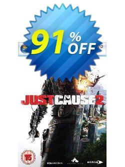 Just Cause 2 - PC  Coupon discount Just Cause 2 (PC) Deal - Just Cause 2 (PC) Exclusive Easter Sale offer for iVoicesoft
