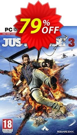 Just Cause 3 PC Coupon discount Just Cause 3 PC Deal - Just Cause 3 PC Exclusive Easter Sale offer for iVoicesoft