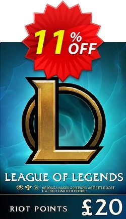 League of Legends 3080 Riot Points - EU - West  Coupon discount League of Legends 3080 Riot Points (EU - West) Deal. Promotion: League of Legends 3080 Riot Points (EU - West) Exclusive Easter Sale offer for iVoicesoft