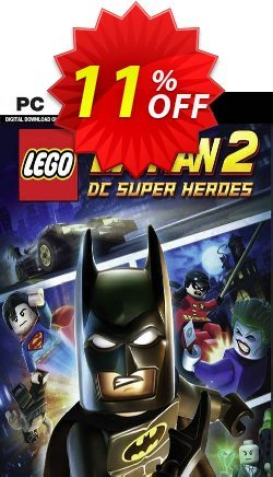 Lego Batman 2: DC Super Heroes - PC  Coupon discount Lego Batman 2: DC Super Heroes (PC) Deal - Lego Batman 2: DC Super Heroes (PC) Exclusive Easter Sale offer for iVoicesoft