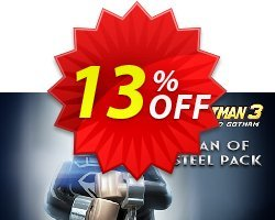 LEGO Batman 3 Beyond Gotham DLC Man of Steel PC Coupon discount LEGO Batman 3 Beyond Gotham DLC Man of Steel PC Deal - LEGO Batman 3 Beyond Gotham DLC Man of Steel PC Exclusive Easter Sale offer for iVoicesoft