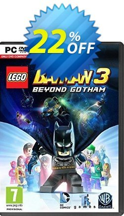 LEGO Batman 3: Beyond Gotham PC Coupon discount LEGO Batman 3: Beyond Gotham PC Deal - LEGO Batman 3: Beyond Gotham PC Exclusive Easter Sale offer for iVoicesoft