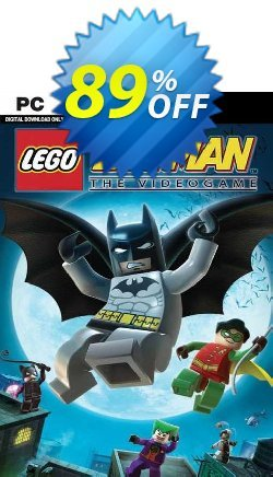 LEGO Batman: The Videogame PC Coupon discount LEGO Batman: The Videogame PC Deal - LEGO Batman: The Videogame PC Exclusive Easter Sale offer for iVoicesoft