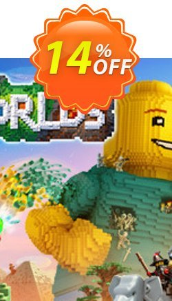 LEGO Worlds PC Coupon discount LEGO Worlds PC Deal - LEGO Worlds PC Exclusive Easter Sale offer for iVoicesoft