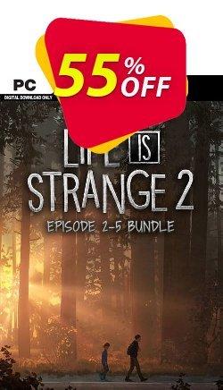 Life is Strange 2 - Episodes 2-5 Bundle PC Coupon discount Life is Strange 2 - Episodes 2-5 Bundle PC Deal - Life is Strange 2 - Episodes 2-5 Bundle PC Exclusive Easter Sale offer for iVoicesoft