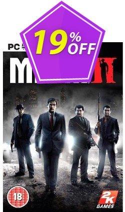 Mafia II 2 - PC  Coupon discount Mafia II 2 (PC) Deal - Mafia II 2 (PC) Exclusive Easter Sale offer for iVoicesoft