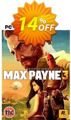 Max Payne 3 - PC  Coupon, discount Max Payne 3 (PC) Deal. Promotion: Max Payne 3 (PC) Exclusive Easter Sale offer for iVoicesoft