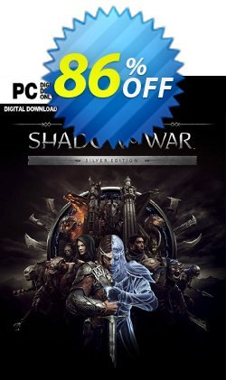 Middle-earth Shadow of War Silver Edition PC Coupon discount Middle-earth Shadow of War Silver Edition PC Deal - Middle-earth Shadow of War Silver Edition PC Exclusive Easter Sale offer for iVoicesoft