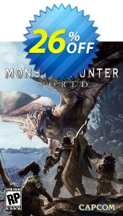 Monster Hunter World PC + DLC Coupon discount Monster Hunter World PC + DLC Deal - Monster Hunter World PC + DLC Exclusive Easter Sale offer for iVoicesoft