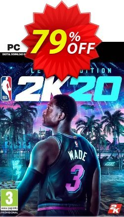 NBA 2K20 Legend Edition PC - US  Coupon discount NBA 2K20 Legend Edition PC (US) Deal - NBA 2K20 Legend Edition PC (US) Exclusive Easter Sale offer for iVoicesoft